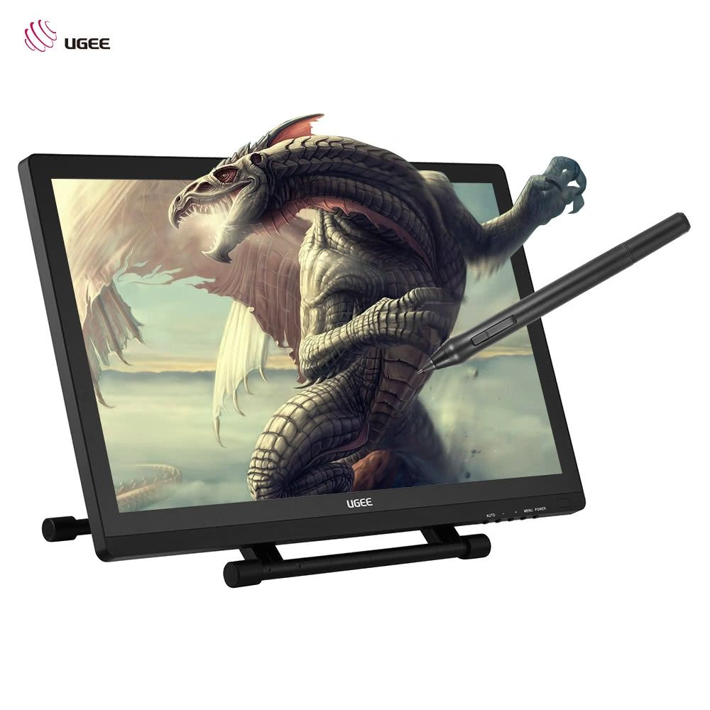 Ugee 2150 Graphics Tablet 21.5 Inch 1080P HD Drawing Pen Tablet
