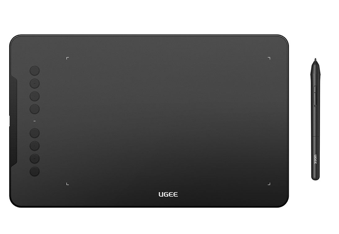 Ugee EX08 Drawing Tablet 10x6 Inch Graphics Tablet