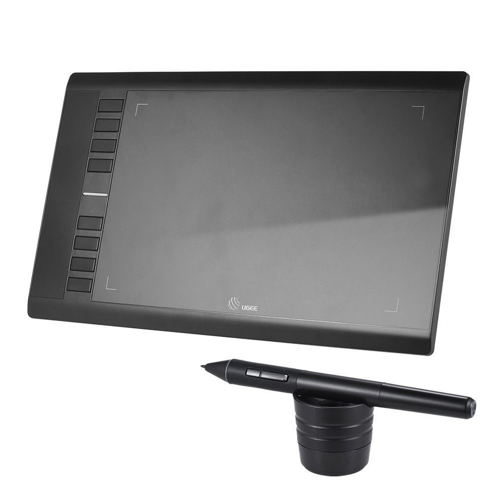 Ugee M708 Drawing Tablet 10x6 Inch Art Graphics Tablet